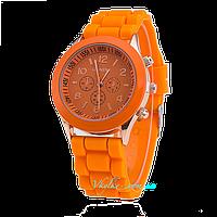 Женские часы Geneva -  оранжевый