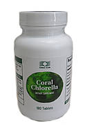 Корал Хлорелла (Coral Chlorella) на основе микроводоросли, 180 табл
