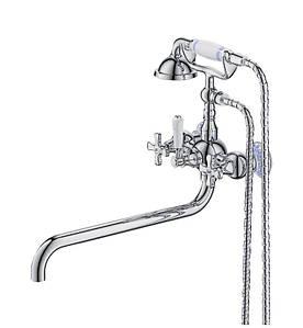 Смеситель для ванны  Retro Evro Chr-006