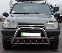 Кенгурятник WT на Chevrolet Niva (c 2002---) Нива Шевроле PRS