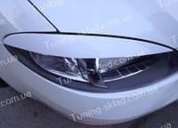 Реснички Шевроле Лачетти Хэтчбек (накладки на передние фары Chevrolet Lacetti hatchback)
