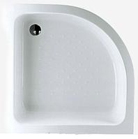 Поддон для душевой кабины полукруглый 900x900,R550 Белый( Поддон + ножки +панель)