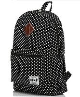 Городской рюкзак в белый горошек 115