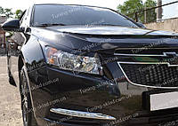Реснички Шевроле Круз (накладки на передние фары Chevrolet Cruze)