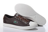 Мужские Кеды Lacoste City Series Brown Leather, фото 1