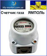 """Счетчик газа """"Ямполь"""" G 2,5 РЛ"""