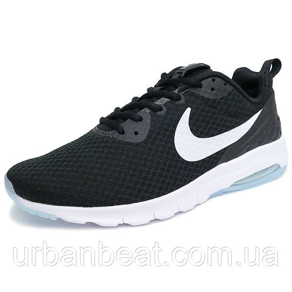 Мужские кроссовки Nike Air Max Motion Low Black White Реплика ... f6179f5d03fb5