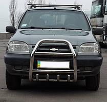 Кенгурятник на Chevrolet Niva (c 2002---) Нива Шевроле PRS