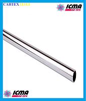 Внешняя Стальная трубка ICMA 889 для подключения радиатора Ø15 мм.