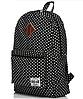Стильный школьный рюкзак в горошек, фото 4
