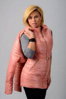 Стильная женская курточка SYMONDER со сьемным болеро 3123 ЕП