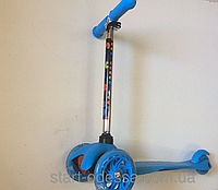 Самокат детский scooter Mini Micro Ярко голубой (два колеса впереди)