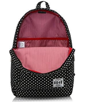 Стильный рюкзак в горошек для школы