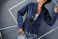 Пиджак женский с фигурными карманами, p.s,m,xl