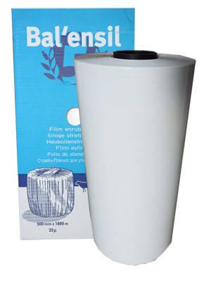 Агростретч, агропленка, стретч плёнка Balensil-Barbier 500, Франция, для обмотки тюков, фото 2