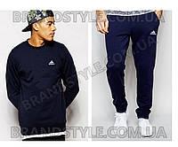 Спортивный костюм Adidas темно-синий