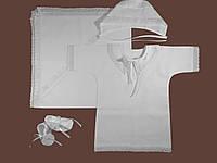 Крестильная рубашка для мальчика с крыжмой. Модель Angel 2