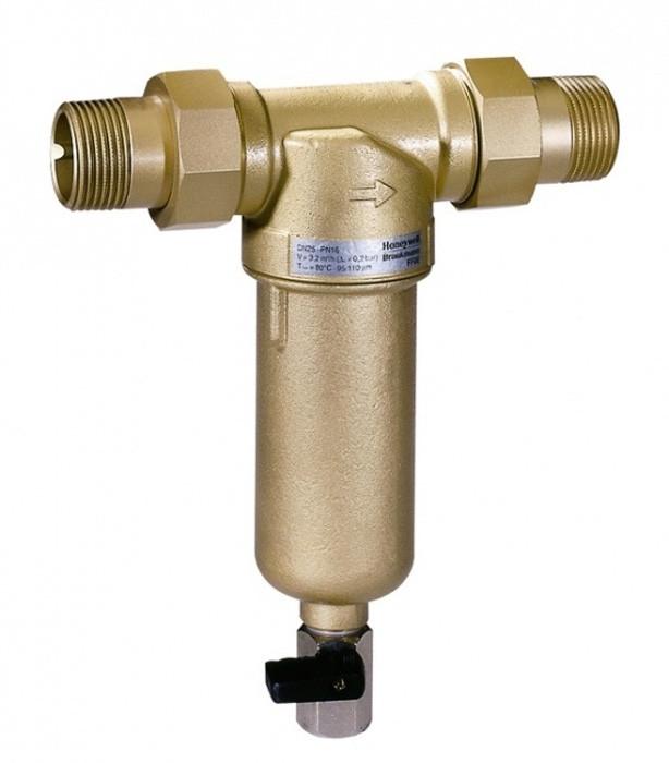 """Промывной фильтр для горячей воды, 1/2"""", 100 мкм, Тmax - 80ºC, РN16 - Интернет-магазин LeCo в Херсоне"""