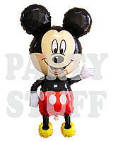 Фольгированный шар Микки Маус с ножками