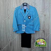 Костюм: пиджак и брюки в школу, на выпускной или торжество, фото 1
