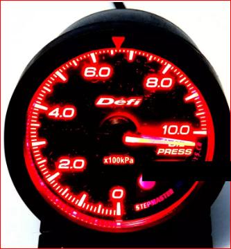 Тюнинговый автомобильный прибор DEFI 60254 давление масла 60мм