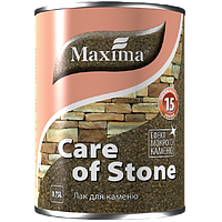 """Лак для камня быстросохнущий """"Care of stone"""" ТМ """"Maxima""""2,5л."""