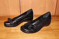 Туфли женские на низкой платформе модель Т1К16