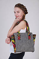 Fleur сумка из фетра Платок в расцветках
