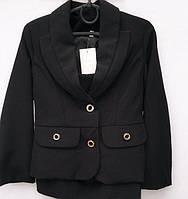 Школьный костюм для девочки с пиджаком    № 300