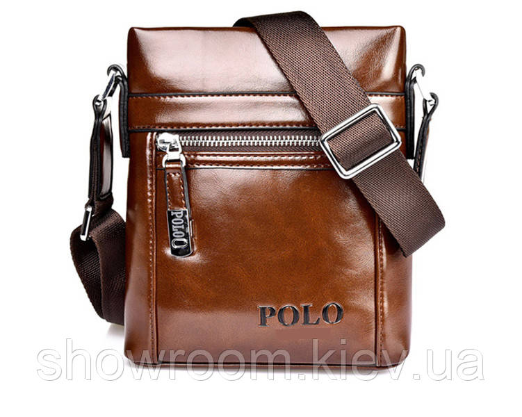 Сумка мужская Polo (612) коричневая