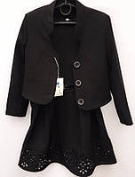 Школьный костюм для девочки с пиджаком    № 380