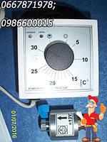 Комнатный програмированный недельный программатор котла Данко в комплекте с газовым клапаном авт. Каре, фото 1