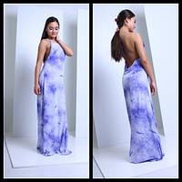 Женское очаровательное платье с открытой спиной и переплетом (3 цвета)