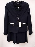 Школьный костюм для девочки с пиджаком    № 8330