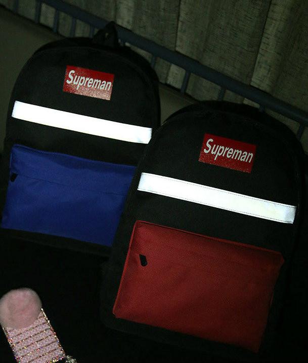 Молодежный рюкзак с светоотражателем