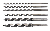 Sigma набор сверел винтовых для коловорота6шт, 6-20x230мм(дер)(6,8,10,12,16,20)