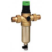 """Промывной фильтр для горячей воды с регулятором давления 1.5-6.0 бар, 1/2"""", 100 мкм, Тmax - 70ºC, РN16"""