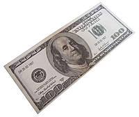 """Деньги сувенирные """"100 долларов"""" 100шт/пачка глянец"""