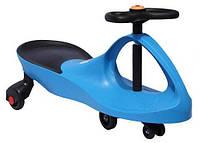 Детская машинка Bibicar (Бибикар) smart carпластиковые колеса, Голубой