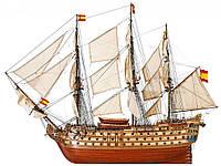 Модель деревянного парусника для склеивания SANTA ANA