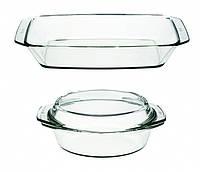 Набор посуды simax 307 термостойкая кастрюля 1,5 литра и жаровня 2,4 литра