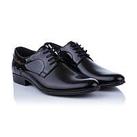 Черные лакированные туфли Tapi (модные, стильные, классический дизайн, удобные, комфортные)