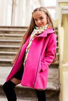 Кашемировое пальто на ребенка демисезон