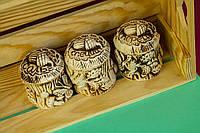 Набор для специй Пень, керамика