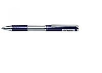 Ручка подарочная Zebra SL-F1 BL (голубой) РШ металлическая Slide 0,7 в футляре