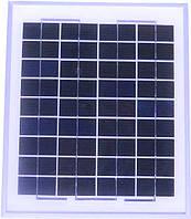 Солнечная панель 10Вт Perlight Solar PLM-010P (поликристалл 12 В)