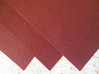 Фетр корейский жесткий 1.2 мм, 20x30 см, КОРИЧНЕВЫЙ, фото 1