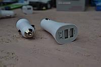 Автоадаптер на 2 USB