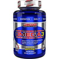 Витамины и минералы AllMax Nutrition Omega 3 (180 softgels)