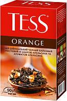 Чай Tess Orangе черный с цедрой апельсина 90г 908710